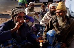 Pilgrims in  Jaipur