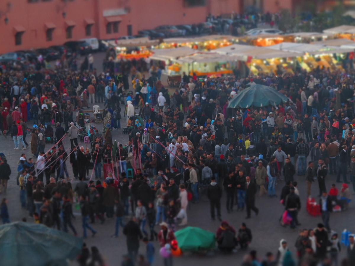 Marrakech, Djemaa el Fna