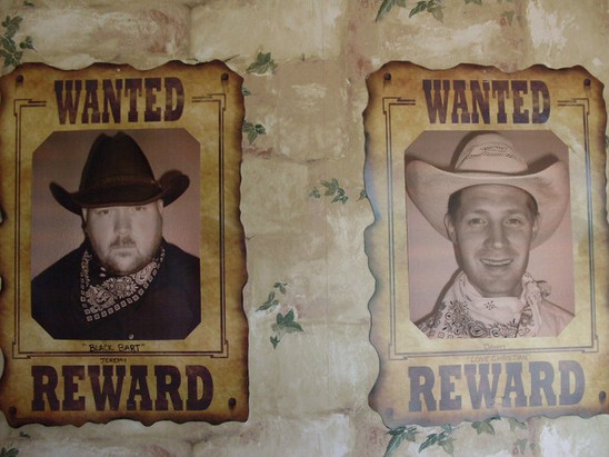 Wanted by God Decorations