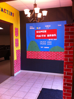 Super Faith Brothers Decorations