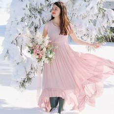 Blush Winter Bouquet
