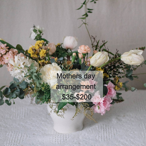 Mothers day arrangent