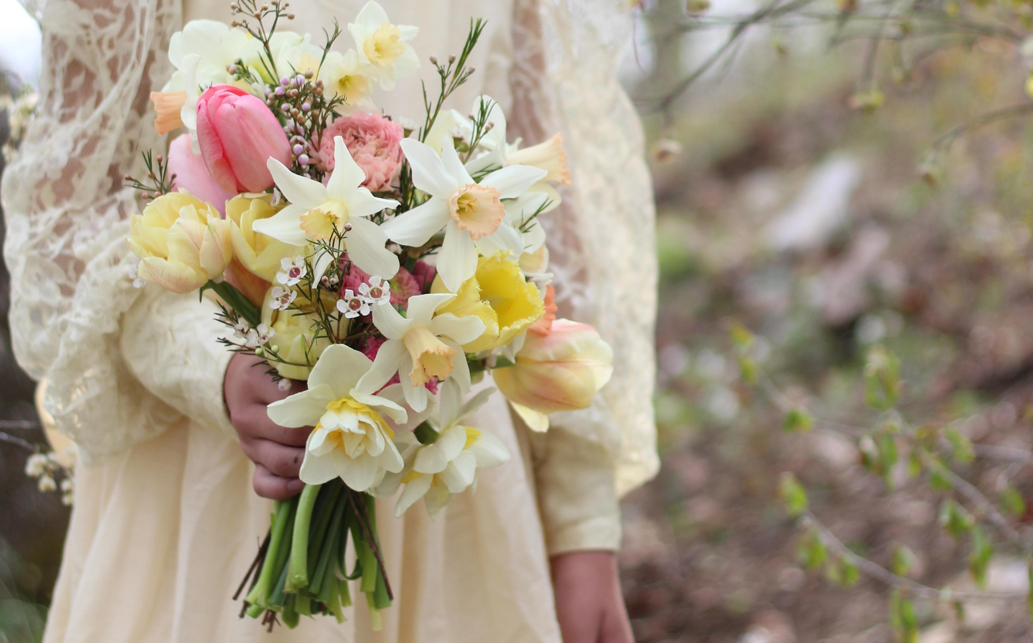 tulip and daffodil romance