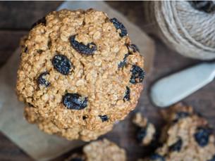 fruit & nut cookies