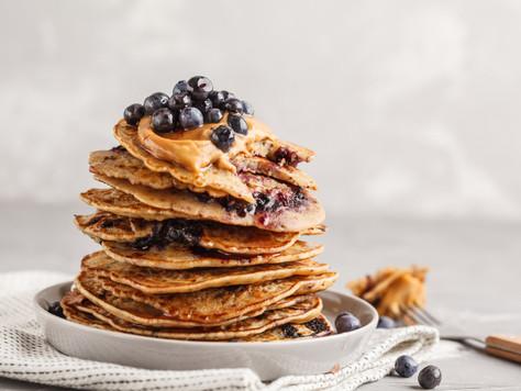 brew flour pancakes