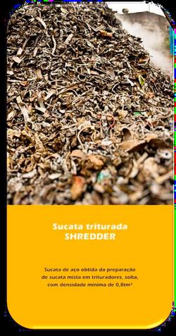 Sucata Triturada Shredder
