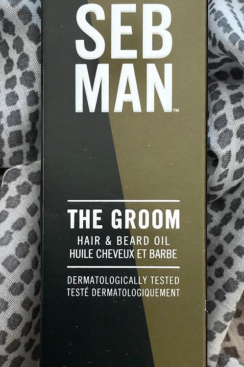 SebMan The Groom Hair & Beard Oil