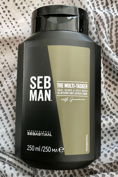 SebMan The Multitasker Hair, Beard and Bodywash
