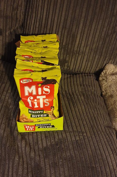Misfits scruffy bites