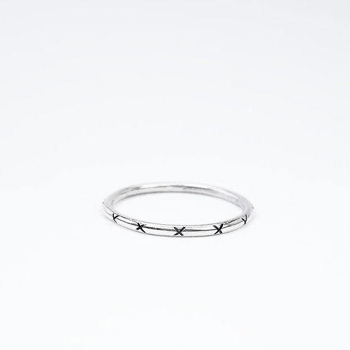 Kisses Stacking Ring