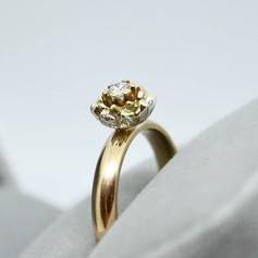 Protea and Diamond Ring