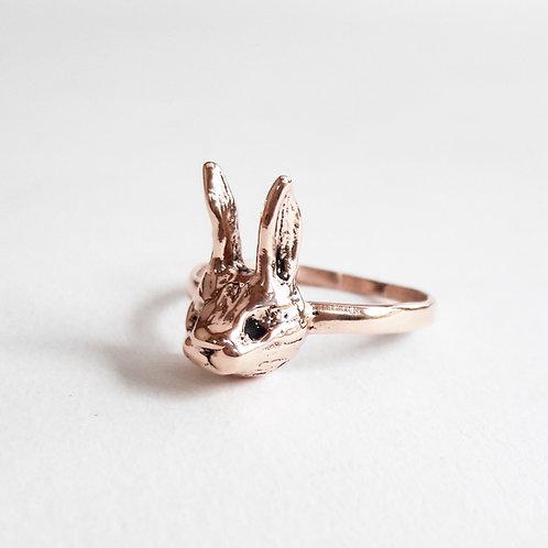 9ct Gold Rabbit Ring