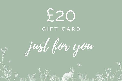£20 Gift Card
