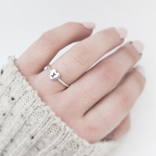 Hearts and Kisses Ring