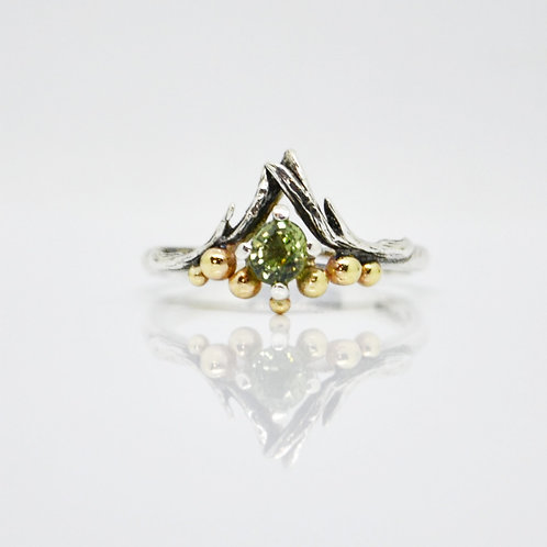 Green Sapphire Antler Crown