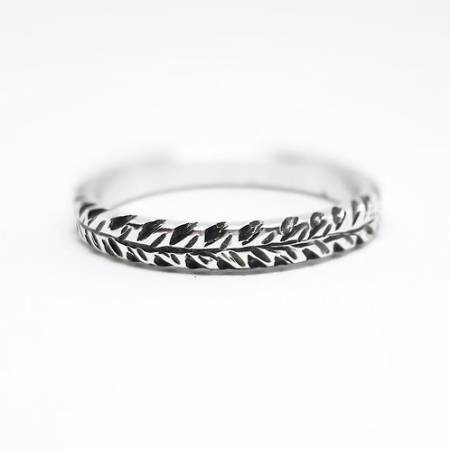 Wheat Patterned Ring