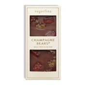 Sparkling Champagne Bears Milk Chocolate Bar