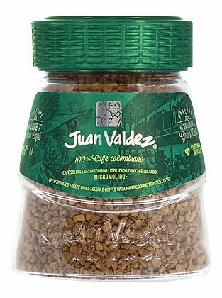 Café Juan Valdez Liofilizado Descafeinado 95gr