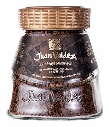 Café Juan Valdez Liofilizado Regular 190g