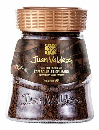 Café Juan Valdez Liofilizado Regular 95g