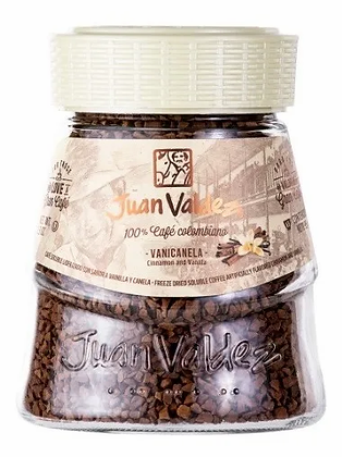 Café Juan Valdez Liofilizado Vanicanela 95gr