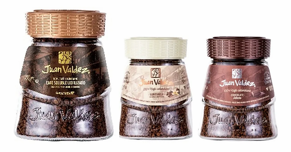 Café Juan Valdez X3 Liofilizado Reg + Chocolate + Vanicanela