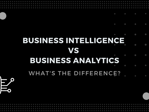 Business Intelligence vs Business Analytics: What's the Difference?