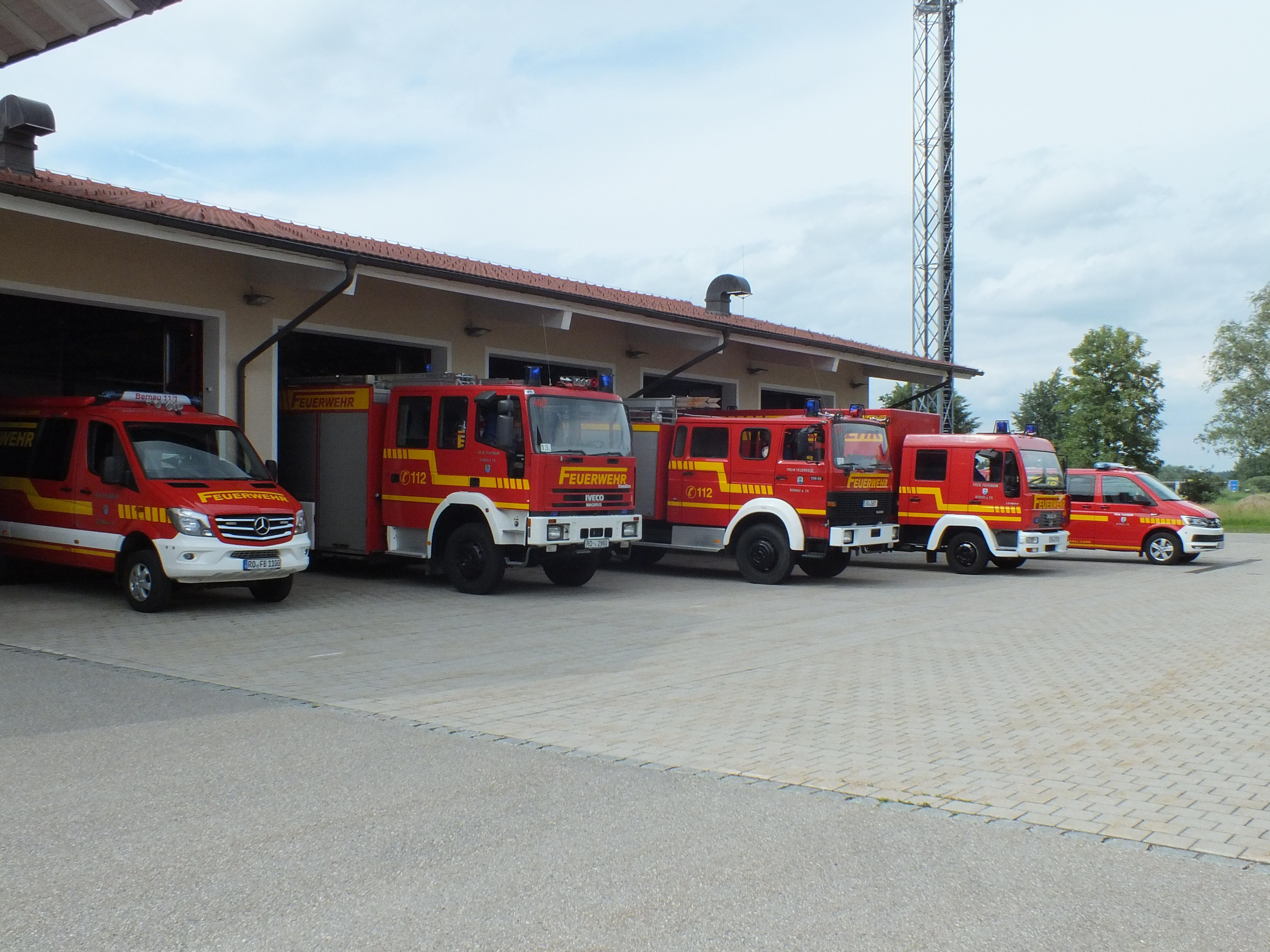 Einsatzfahrzeuge der FF Bernau