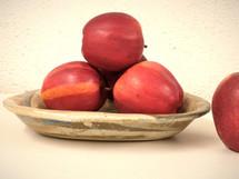 Grey white brown and blue ceramic bowl b