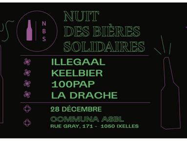 Collaboration avec la nuit des bières Solidaires