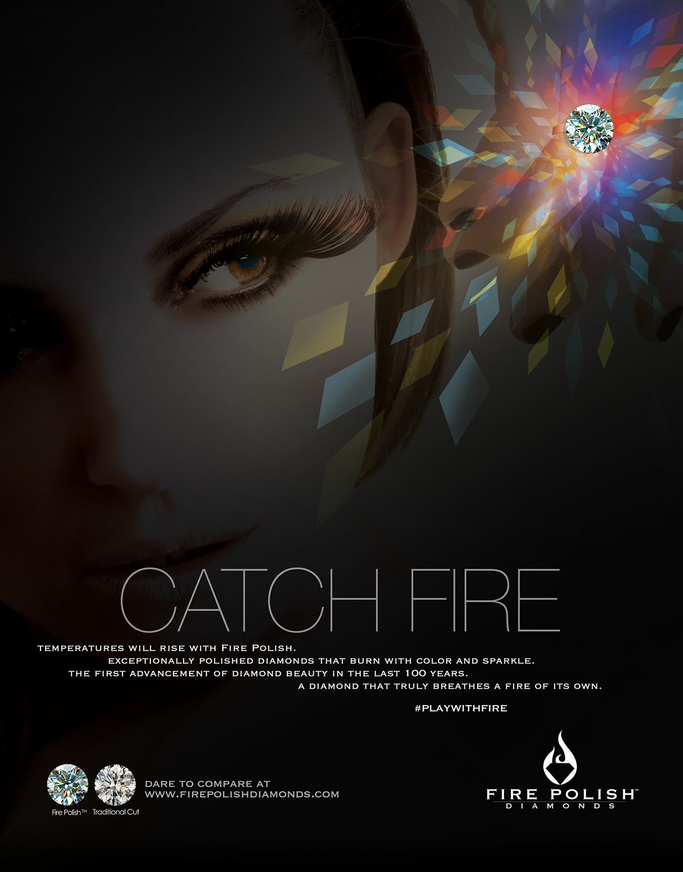 fire polish diamonds ad2