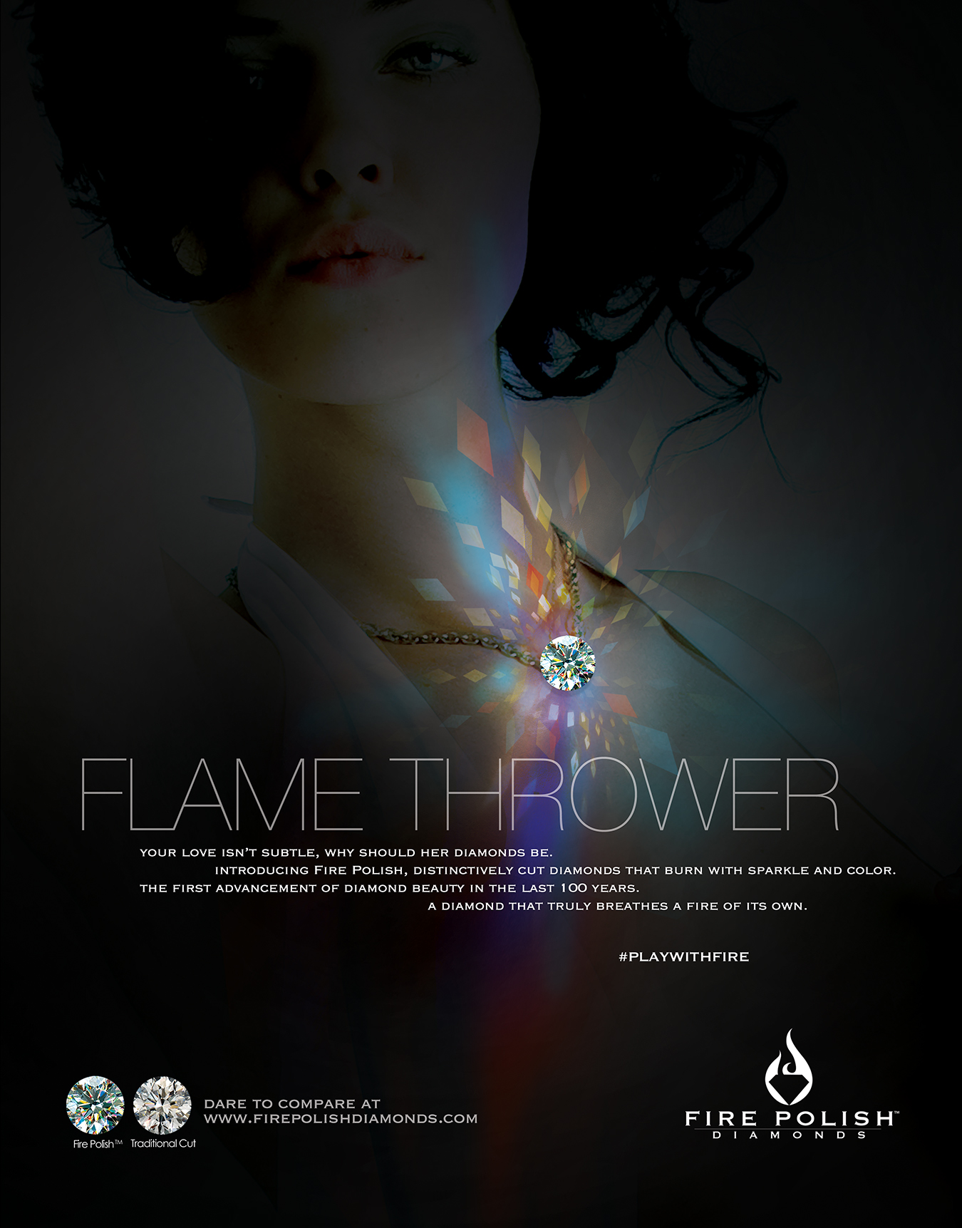 fire polish diamonds ad4
