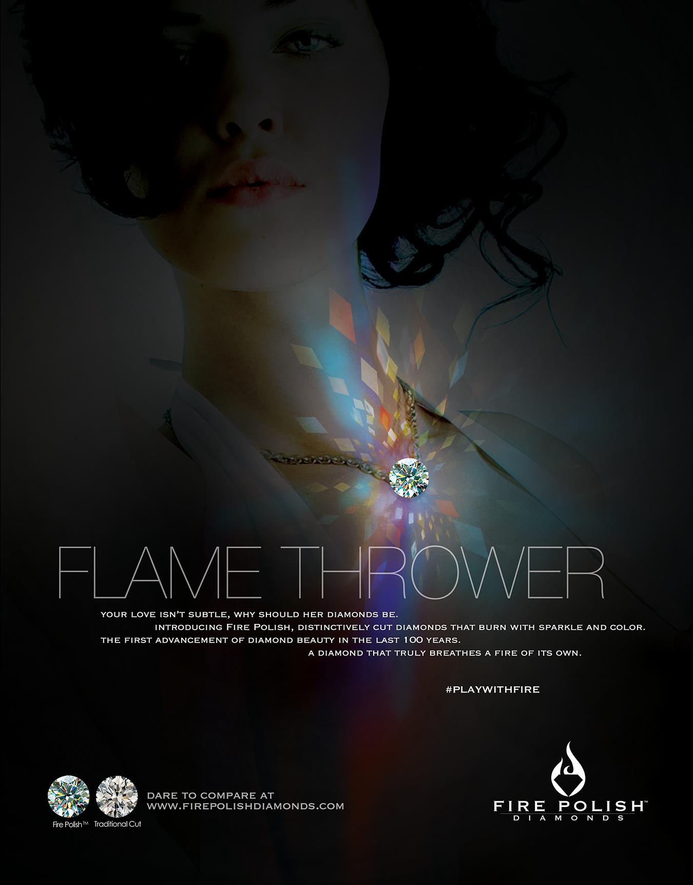 fire polish diamonds ad4