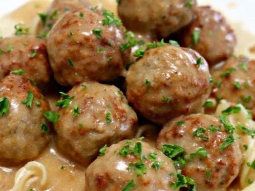 Wednesday - Swedish Meatballs Meal