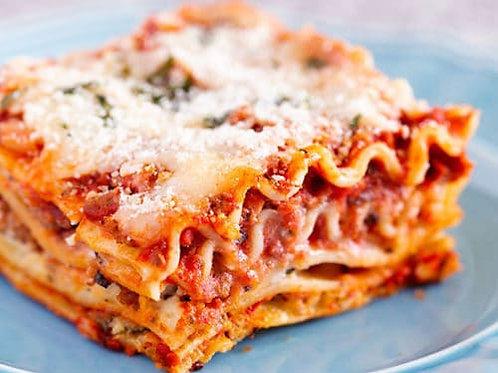 Thursday - Lasagna meal