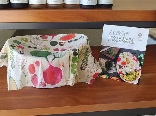 Z Wraps Eco-Friendly Food Storage
