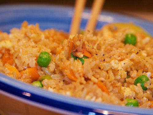 Tuesday - Unstuffed Egg Rolls & Fried Rice Meal