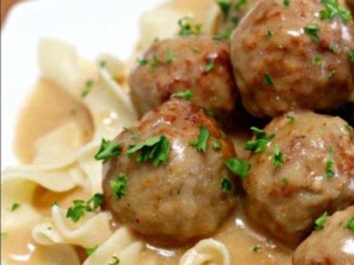 Friday - Swedish Meatballs Meal