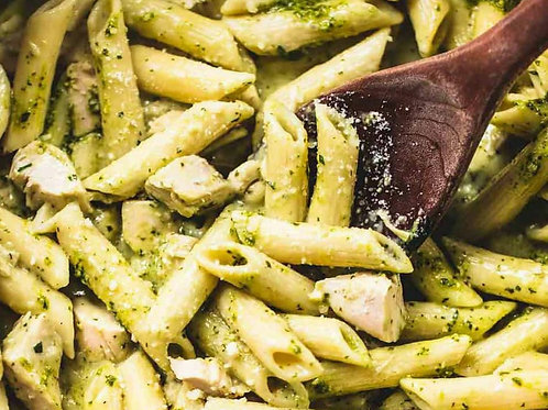 Tuesday - Pesto Pasta meal