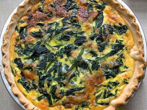 Thursday - Quiche meal