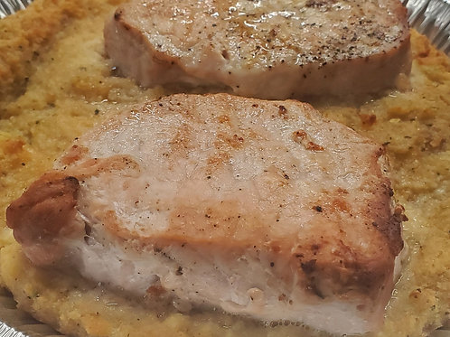 Thursday - Pork Chops meal
