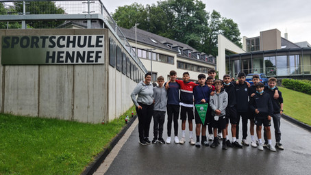 TalentSportVerein Mainz bei Fußball Ferien-Freizeit der Egidius-Braun Stiftung