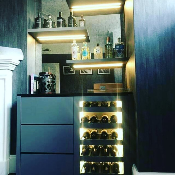 Do you have a Bar area to Light up?