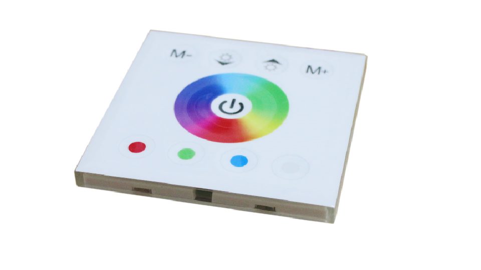 Wall-mounted Touch Panel Controller For 3528 5050 RGB RGBW LED Strip