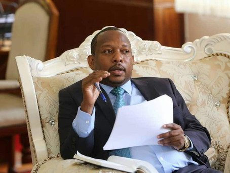 Mike Sonko goes after CBD building owners for violating re-paint orders