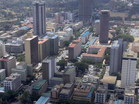 Nairobi property owners ordered to repaint buildings within 60days.
