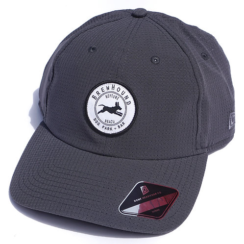 Brewhound Dog Park + Bar Grey Mesh Cap