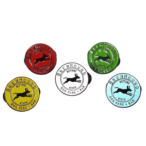 Brewhound Dog Park + Bar Pin