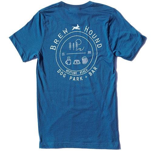 Brewhouhd Logo Teal T-Shirt