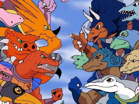 """Animações dos anos 80 que você QUASE esqueceu I PARTE 3: """"Dinosaucers"""""""